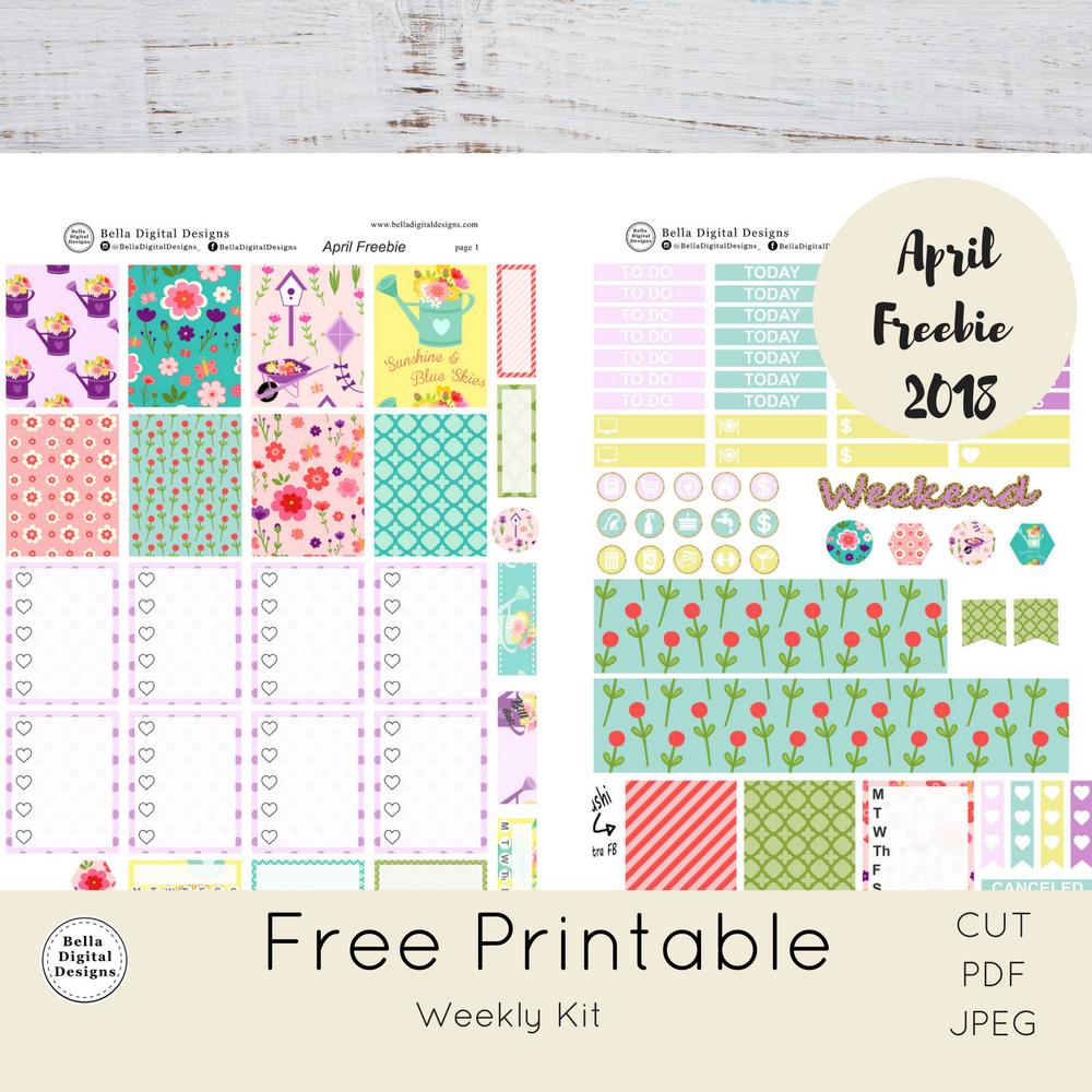 PlannerProblem – Free Printable Planner Stickers!